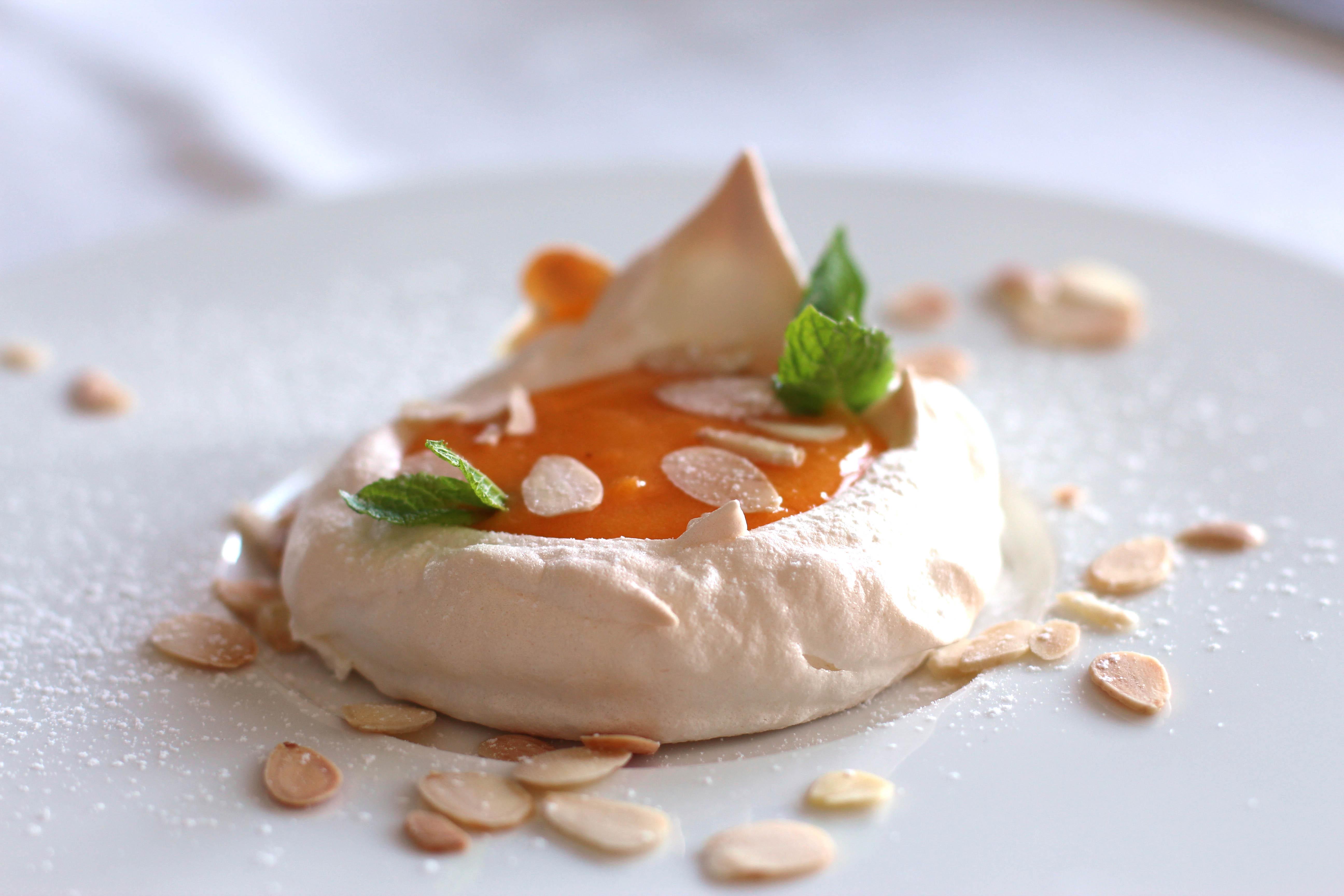 蛋黃糖漿蛋白餅