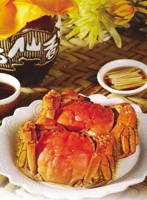 梓园上海菜馆「大闸蟹」